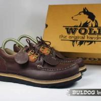 sepatu boots online | model sepatu boot kulit premium | Wolf Buldog