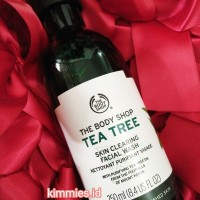 Tea Tree Facial Wash The Body Shop