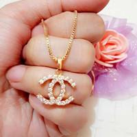 harga Kalung + Liontin chanel (xuping / perhiasan lapis emas ) Tokopedia.com