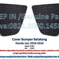 COVER BUMPER BELAKANG Honda JAZZ 2014-2016 Tutup Bemper Rear Baru asli