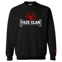 Sweater Faze Clan - Hitam#hoodie