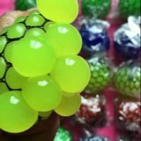 Jual Mainan unik stress ball slime bola anggur Murah