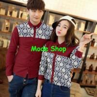 CP batik/couple sepasang/cople batik/couple maroon/AG