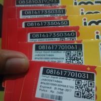 harga sim handphone hp kartu perdana im3 ooredoo 4G nomor cantik murah Tokopedia.com
