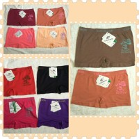 harga cd celana dalam boxer segiempat wanita cewek perempuan calnikean Tokopedia.com