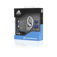 Sennheiser OCX 685i Adidas Sports In-Ear Headphones - Biru Hitam