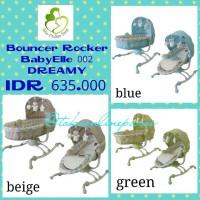 Harga AYUNAN BAYI BABY BOUNCER ROCKER BABYELLE 002 DREAMY | WIKIPRICE INDONESIA