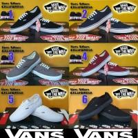 Sepatu Casual Vans California Grade Ori + Box