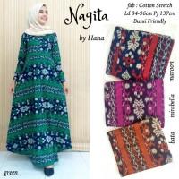 NAGITA DRESS BY HANA / GAMIS BATIK