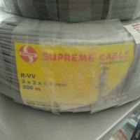 Supreme kabel telepon ITC 2 X 2 X 0.6 isi 4 pair
