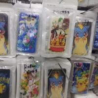 soft case motif pokemon (tanyakan tipe hp nya)