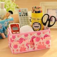 Kotak Rias Lipat Mini / Kotak Alat Tulis Storage Box Foldable - X207