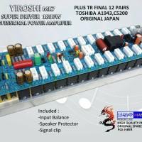Yiroshi mk7 Professional Power Amplifier kit Full Set