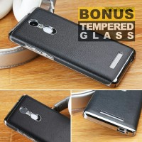 harga Case Xiaomi Redmi Note 3 Leather Electroplate Frame Softcase Tokopedia.com