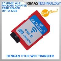 EZ Share Wi-Fi microSD Adapter Card Reader Up 32GB Micro SD Wifi 32 GB