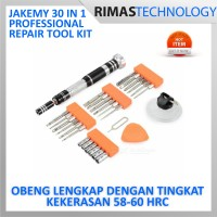 Jakemy 30 In 1 Professional Repair Tool Kit - JM-8142Obeng