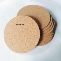 Cork Coaster (Tatakan Gelas) 3mm
