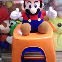 Boneka Mario Bross Mirip Aslinya Yang di Game Super Mario