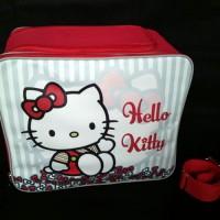 harga Baby Bag Organizer Karakter Hello Kitty Merah Ribbon Stripe Tas Bayi Tokopedia.com