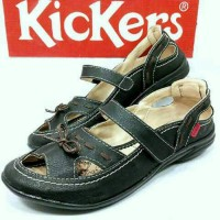harga sepatu sandal wanita   kickers woman   slip on santai Tokopedia.com