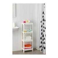Jual IKEA VESKEN Rak Kamar Mandi, putih 23x100 Murah