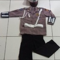 Setelan Polantas Anak / Seragam Polisi Anak / Baju Polisi anak