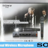 MIC WIRELESS SONY SN-68 ( 2MIC )