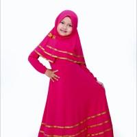 Baju muslim gamis anak perempuan