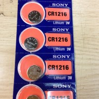 Button Cell - Sony - CR1216