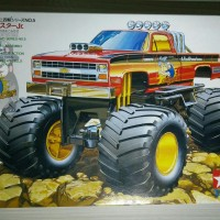 Wild Mini 4WD Tamiya : Clod Buster Jr. Bigfoot (Japan - Grease Timah)
