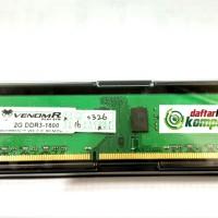 Memory Venom Rx Ddr3 2gb Pc12800