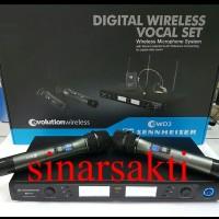 harga Mic Wireless Sennheiser Ew D3 ( Handheld ) Multi Channel Tokopedia.com