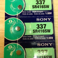 Button Cell - Sony - 337 (SR416SW)
