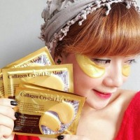 Masker Mata Kristal Kolagen/Gold Eye Crystal Collagen Mask