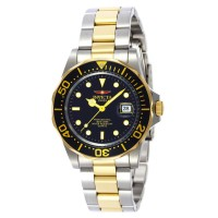Invicta 9309 Men Watch - Gold-Steel - Stainless Steel