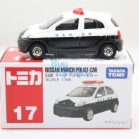 Tomica Reguler 17 Nissan March Police Car