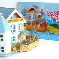 "3D Puzzle Dream Doll House ""Rural Villa"" SANGAT CANTIK, MANIS & CUTE"