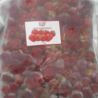 Iqf strawberry/frozen strawberry/stroberi beku/frozen fruits/buah beku