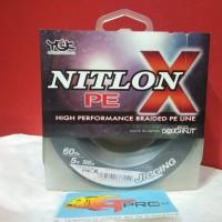 YGK NITLON X BRAID PE LINE 300M #PE5-60LB
