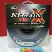 YGK NITLON X BRAID PE LINE 500M #PE4-50LB