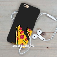 Pizza Black iPhone Case 5C Casing Cover HP