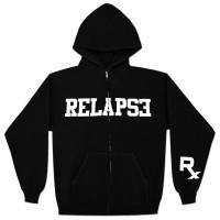 Relapse Eminem Zip Hoodie - Hitam#sweater