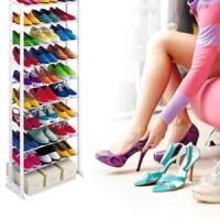 harga Rak Sepatu Amazing Shoe Rack Muat 30 Pasang As Seen On Tv Model Baru Tokopedia