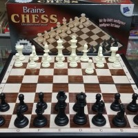 Harga Brains CHESS Magnetic Board Games Papan CATUR | WIKIPRICE INDONESIA