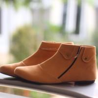 harga Sepatu Boot Wanita / Boots Korea SBO90 Tokopedia.com