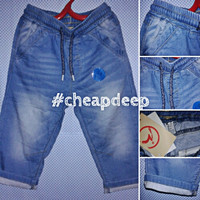 Celana Joger Jeans Denim Anak Laki-Laki Cowok Branded