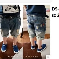 DS-008 PONGGOL DAVIN RIPPED JEANS