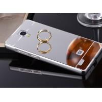 Jual Aluminium Tempered Glass Hard Case Casing Cover Hp Xiaomi Redmi Note 1 Murah
