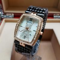 harga Bonia Rantai Merica Jam Tangan Fashion Wanita Black Gold(Rolex Fossil) Tokopedia.com