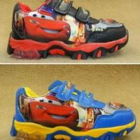 harga sepatu lampu cars sz 28-33 Tokopedia.com